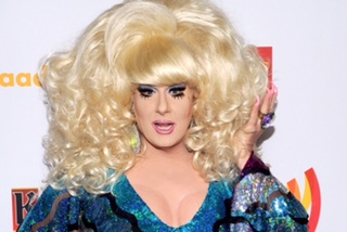 LOS ANGELES, CA - APRIL 21: TV personality Lady Bunny arrives at the 23rd Annual GLAAD Media Awards presented by Ketel One and Wells Fargo held at Westin Bonaventure Hotel on April 21, 2012 in Los Angeles, California. (Photo by Michael Buckner/Getty Images for GLAAD)