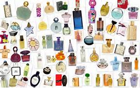 collage of fragrances