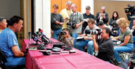 dean richardson press conference