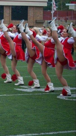 marching ballerinas high kick