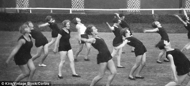 women exercising dailymail.uk