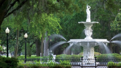 fountain-in-savannah